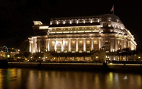 The Fullerton Hotel Singapore wallpaper 1920x1080 jpg