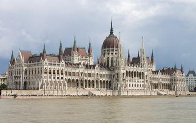 The Hungarian Parliament Building Wallpaper