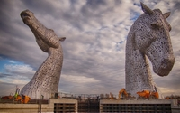 The Kelpies wallpaper 2560x1600 jpg