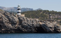 The lighthouse of Port de Soller wallpaper 3840x2160 jpg