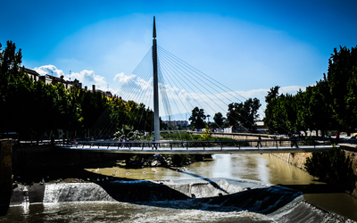 The New Bridge in Murcia wallpaper