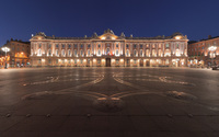 The Place du Capitole wallpaper 2560x1600 jpg