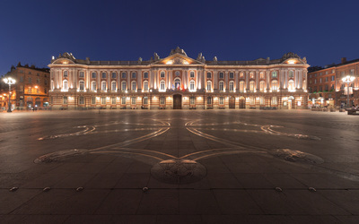 The Place du Capitole wallpaper
