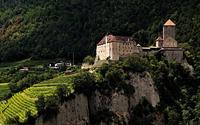 Tirol Castle in Italy wallpaper 2560x1600 jpg