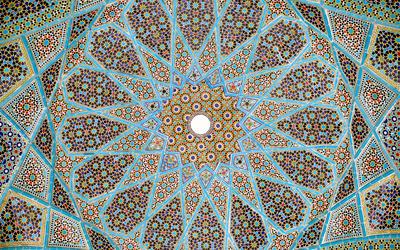 Tomb of Hafez wallpaper