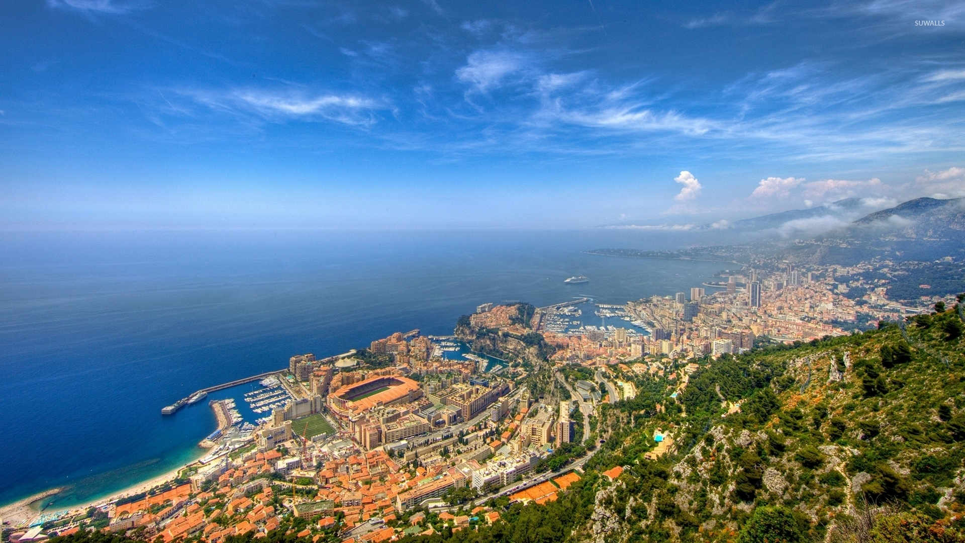 top view of monte carlo wallpaper - world wallpapers - #52431
