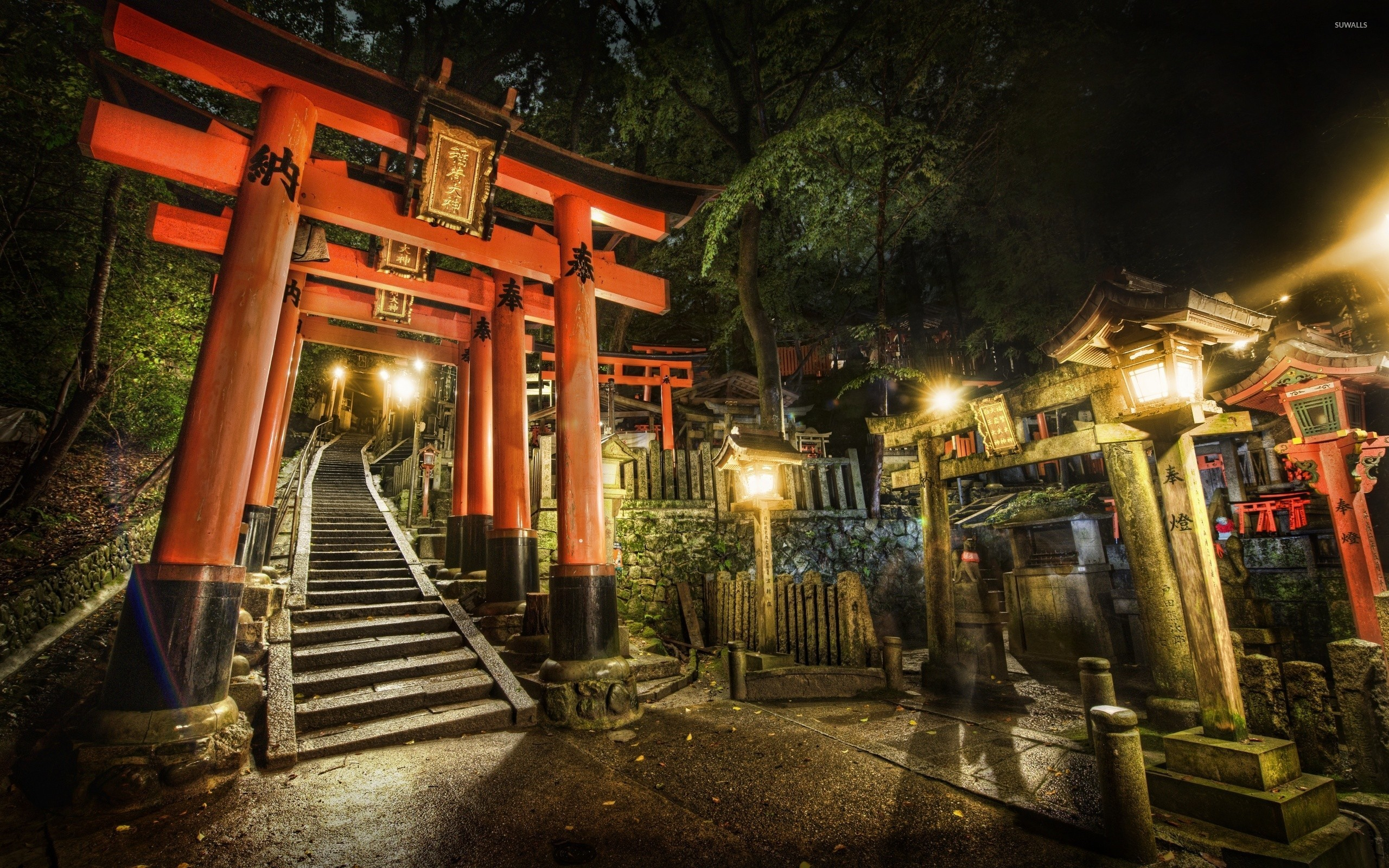 Fantastic Wallpaper Night Japanese Garden - torii-in-a-japanese-garden-44114-2560x1600  Pic-49361.jpg