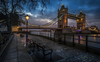 Tower Bridge [8] Wallpaper
