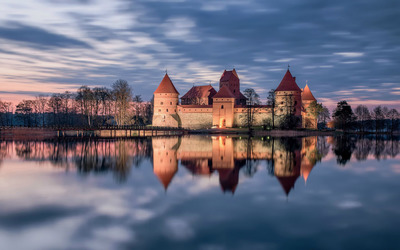 Trakai castle, Lithuania wallpaper
