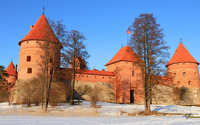 Trakai Island Castle [2] wallpaper 1920x1080 jpg
