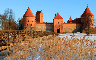 Trakai Island Castle [3] Wallpaper