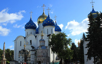 Trinity Lavra of St. Sergius wallpaper 3840x2160 jpg