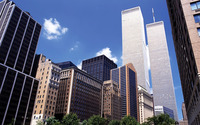 Twin Towers, New York City wallpaper 1920x1200 jpg