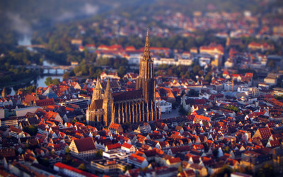 Ulm Cathedral Wallpaper