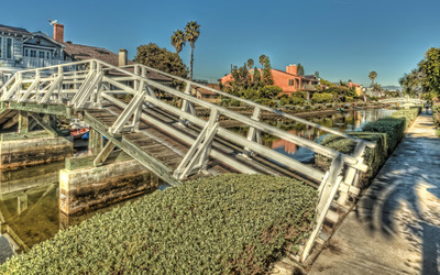 Venice canals - Los Angeles wallpaper