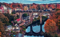 Viaduct in Knaresborough wallpaper 1920x1200 jpg