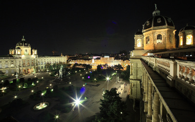 Vienna wallpaper