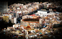 View of Alicante from above wallpaper 3840x2160 jpg