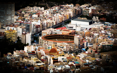 View of Alicante from above wallpaper