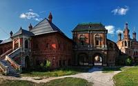 Vysokopetrovsky Monastery wallpaper 1920x1200 jpg