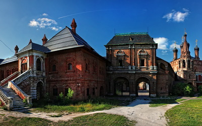 Vysokopetrovsky Monastery wallpaper
