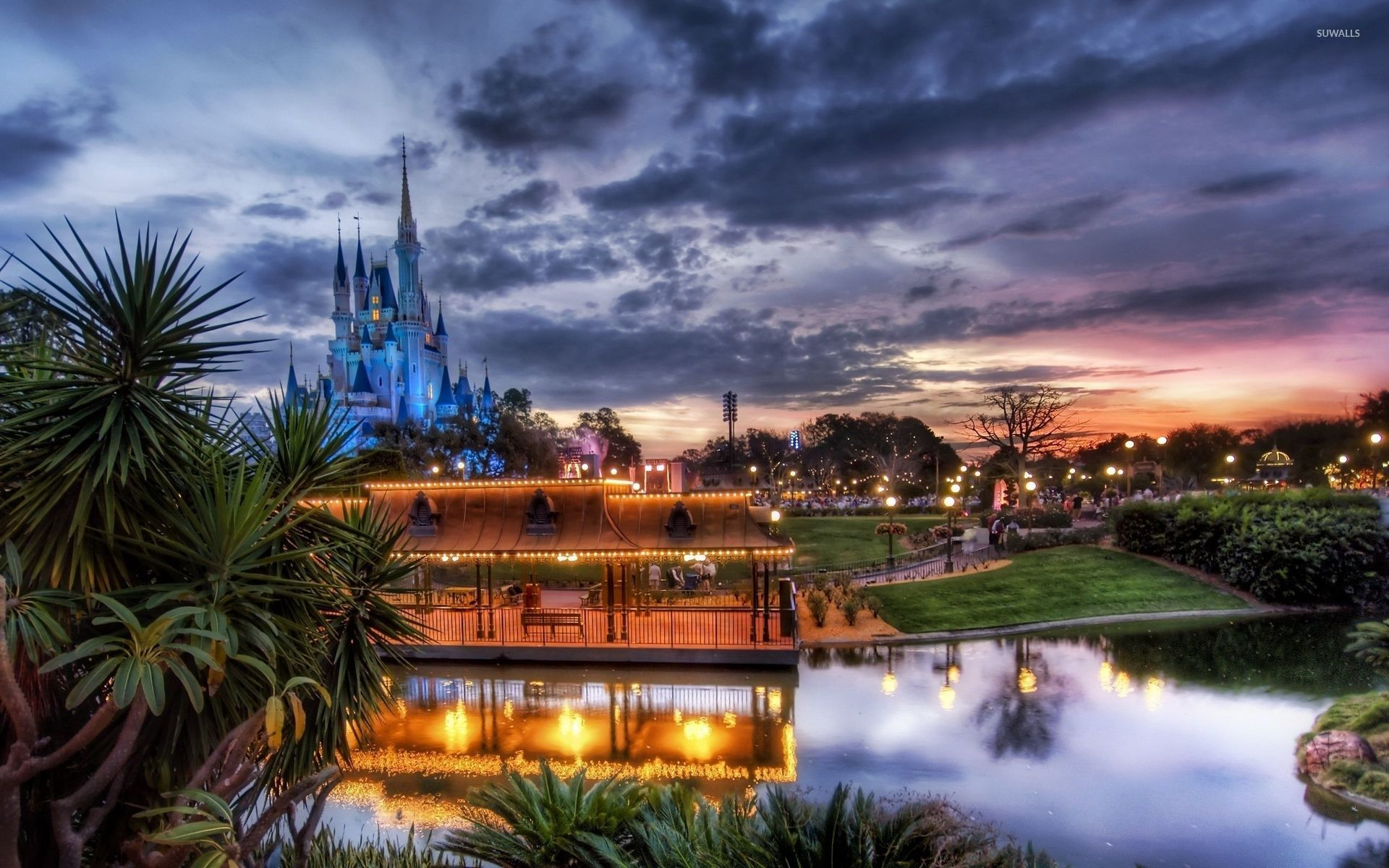 walt disney world resort in orlando wallpaper world
