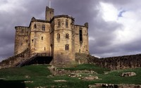 Warkworth Castle wallpaper 1920x1200 jpg