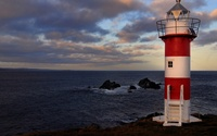 White and red lighthouse wallpaper 1920x1200 jpg