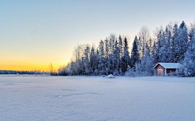 Winter landscape [3] wallpaper