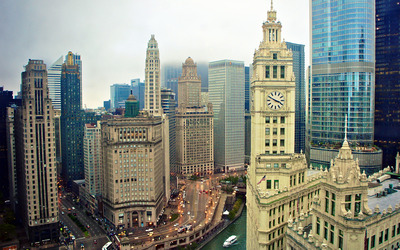 Wrigley Building, Chicago wallpaper