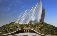 Zayed National Museum wallpaper 1920x1200 jpg
