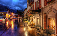 Zermatt street, Germany wallpaper 2560x1600 jpg